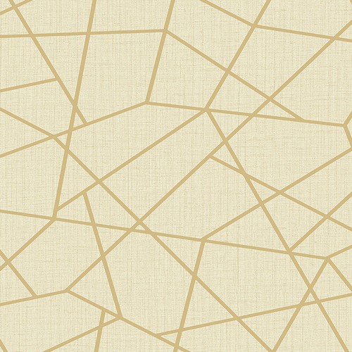 2765-BW40305 Brewster Wallcovering Kenneth James Geo Tex Heath Geometric Linen Wallpaper Gold