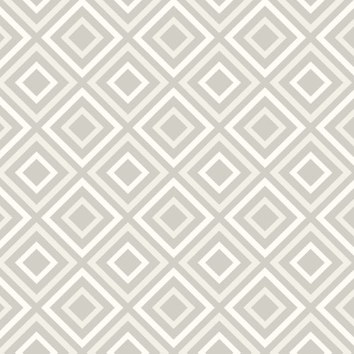2809-87703 Brewster Wallcovering Advantage Geo Horus Diamond Geo Wallpaper Silver
