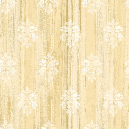 2810-SH01122 Brewster Wallcovering Advantage Tradition Alison Damask Motif Wallpaper Yellow
