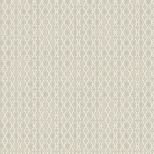 DI4755 York Wallcovering Dimensional Artistry Smoke and Mirrors Wallpaper Beige
