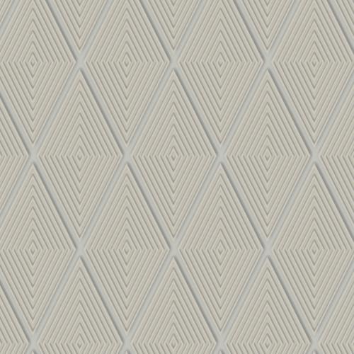 DI4764 York Wallcovering Dimensional Artistry Conduit Diamond Wallpaper Taupe