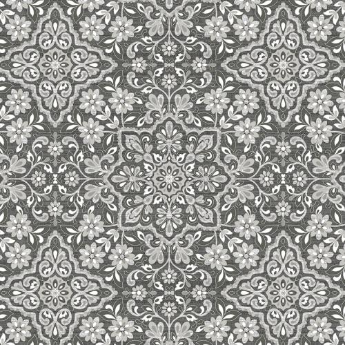 Floral Tile Wallpaper By Patton Lelands Wallpaper