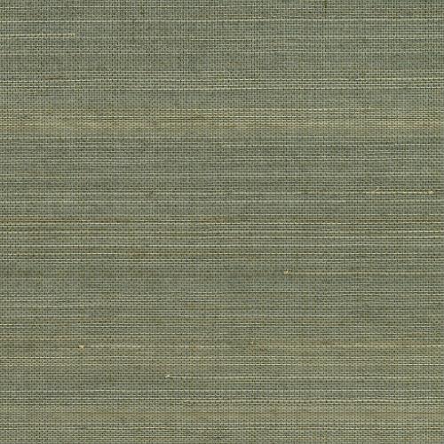 2732-54752 Brewster Wallcovering Kenneth James Canton Road Grasscloth Salisbury Grasscloth Wallpaper Grey