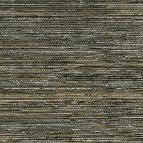 2732-80071 Brewster Wallcovering Kenneth James Canton Road Grasscloth Shandong Raime Grasscloth Wallpaper Chocolate