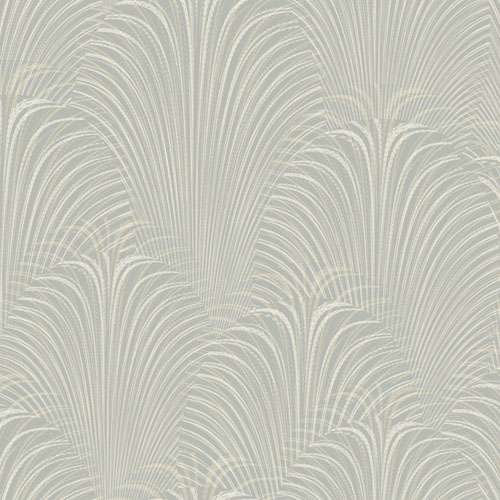OL2767 York Wallcovering Candice Olson Journey Deco Fountain Wallpaper Grey