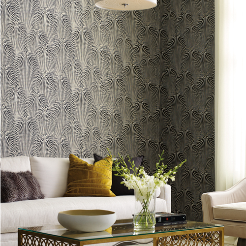 Deco Fountain Wallpaper from Candice Olson by York - Lelands ...