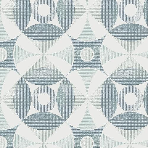 2821-21532 Brewster Wallcovering A Street Prints Folklore Ellis Geometric Wallpaper Teal