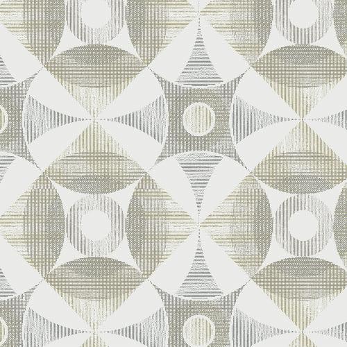 2821-25134 Brewster Wallcovering A Street Prints Folklore Ellis Geometric Wallpaper Brown
