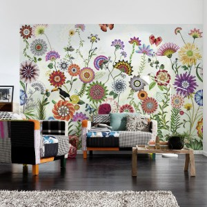 8-200 Brewster Wallcovering Komar Brazil Wall Mural Room Setting