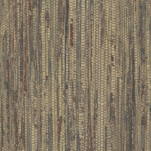 G67963 Norwall Patton Wallcovering Organic Texture Rough Grass Wallpaper Henna
