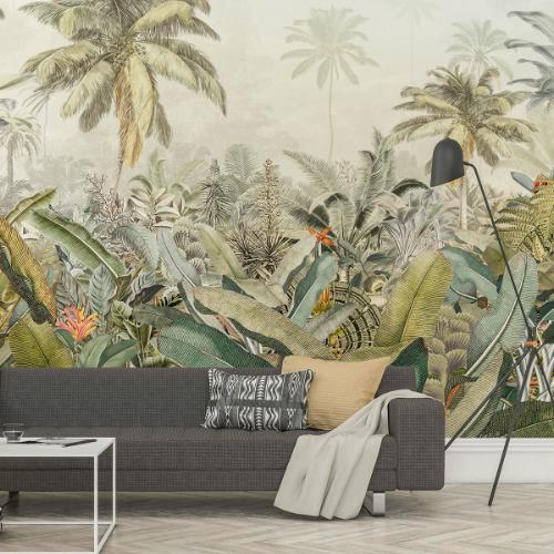 XXL4-063 Brewster Wallcovering Komar Amazonia Wall Mural Room Setting