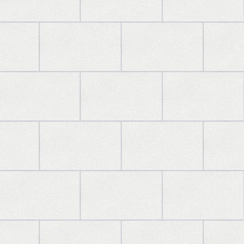 2814-M1054 Brewster Wallcovering Advantage Bath Neale Subway Tile Wallpaper White