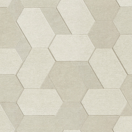 2835-C88604 Brewster Wallcovering Advantage Plaza Geometric Wallpaper Cream