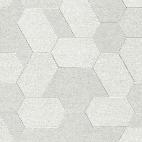 2835-C88609 Brewster Wallcovering Advantage Plaza Geometric Wallpaper Ivory