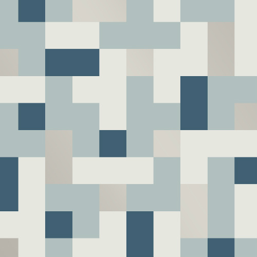 2889-25221 Brewster Wallcovering A Street Prints Terence Conran Alby Geometric Wallpaper Blue