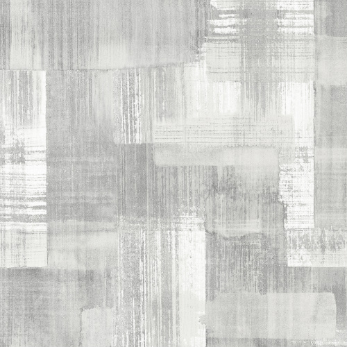2889-25227 Brewster Wallcovering A Street Prints Terence Conran Plain Simple Useful Trosa Brushstroke Wallpaper Grey