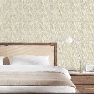 2838-IH2214 Brewster Wallcovering Decorline Vista Kendall Geometric Wallpaper Off-White Room Setting
