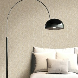 2838-IH2224 Brewster Wallcovering Decorline Vista Quinn Twist Wallpaper Beige Room Setting