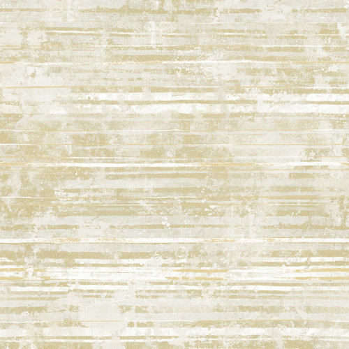 2838-IH2252 Brewster Wallcovering Decorline Vista Makayla Distressed Stripe Wallpaper Apricot
