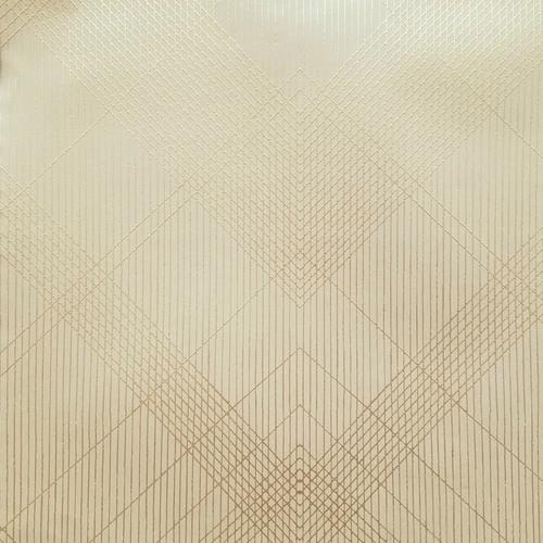 CA1590 York Wallcovering Antonina Vella Deco Jazz Age Wallpaper Champagne
