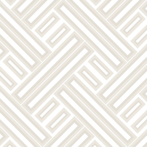 GX37606 Patton Wallcovering Norwall GeometriX Rectangles Wallpaper Grey