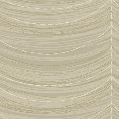 2010606 Seabrook Wallcovering Etten Gallerie Aura Pearl Drape Wallpaper Taupe