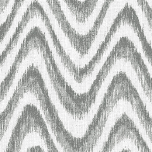 2901-25407 Brewster Wallcovering A Street Prints Perennial Bargello Faux Grasscloth Wave Wallpaper Grey