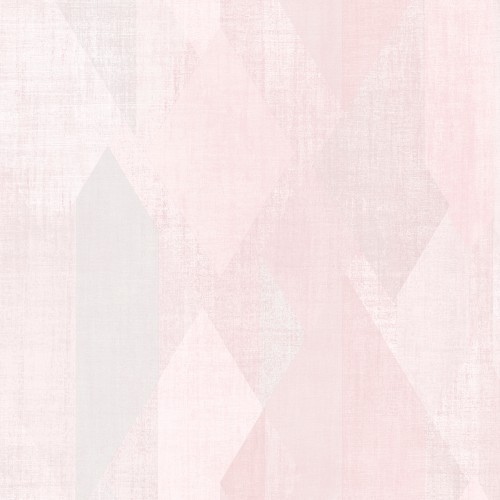 GX37636 Patton Wallcovering Norwall GeometriX Glass Shards Wallpaper Pink
