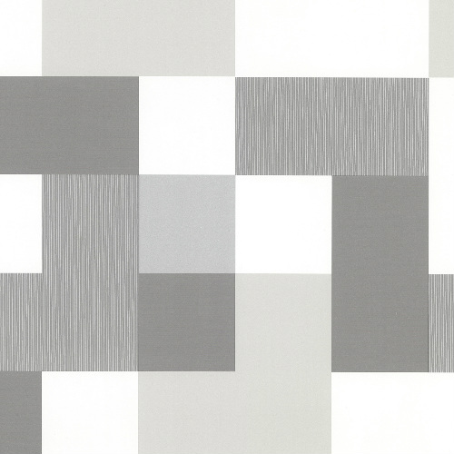 2836-24998 Brewster Wallcovering Advantage Shade of Grey Laurence Geometric Grey