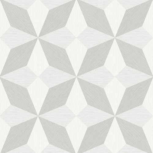 2908-25301 Brewster Wallcovering A Street Prints Alchemy Valiant Faux Grasscloth Geometric Wallpaper Off-White