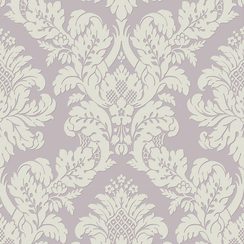 UK10481 Seabrook Wallcovering Pear Tree Studio Shimmer Glitter Damask Wallpaper Lavender