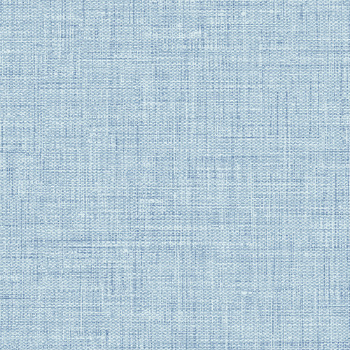 BV30212 Seabrook Wallcovering Texture Gallery Easy Linen Wallpaper Sky Blue