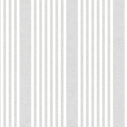SR1582 York Wallcovering Stripes Resource Library French Linen Stripe Wallpaper Grey