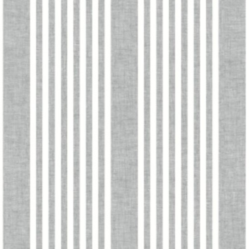 SR1586 York Wallcovering Stripes Resource Library French Linen Stripe Wallpaper Charcoal