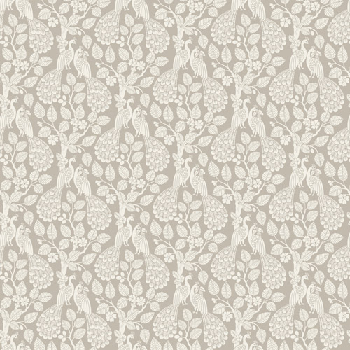 SP1402 York Wallcovering Small Prints Plumage Wallpaper Taupe