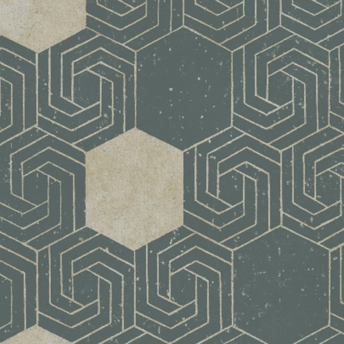 2902-25545 Brewster Wallcovering A Street Prints Theory Momentum Geometric Wallpaper Dark Green