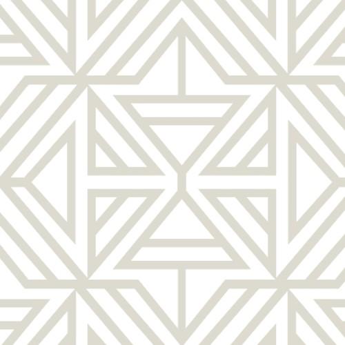 2902-25554 Brewster Wallcovering A Street Prints Theory Helios Geometric Wallpaper Bone