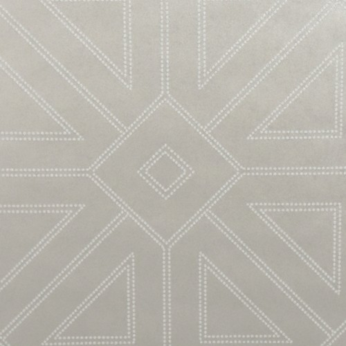 2902-87338 Brewster Wallcovering A Street Prints Theory Voltaire Geometric Wallpaper Platinum