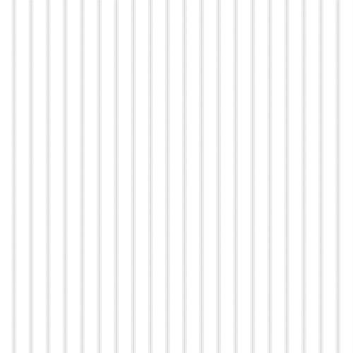 ST36908 Patton Wallcovering Norwall Simply Stripes 3 Ticking Stripe Wallpaper Grey