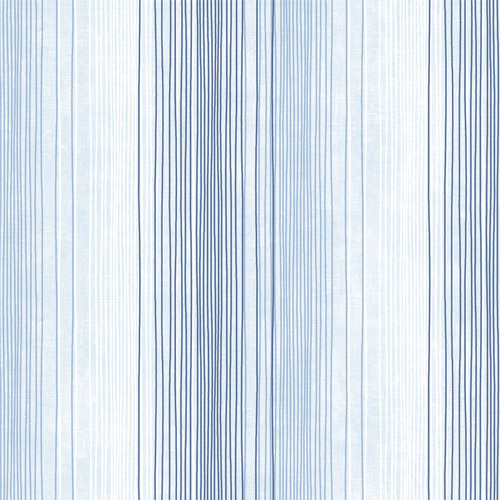 ST36920 Patton Wallcovering Norwall Simply Stripes 3 Random Stripe Wallpaper Blue