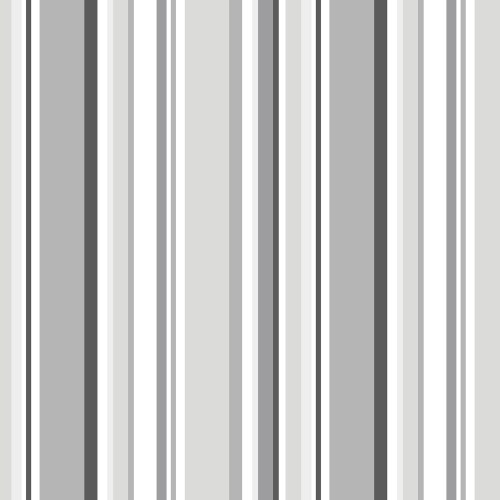SY33962 Patton Wallcovering Norwall Simply Stripes 3 Step Stripe Wallpaper Grey