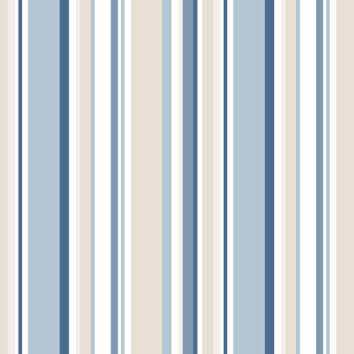 SY33963 Patton Wallcovering Norwall Simply Stripes 3 Step Stripe Wallpaper Blue