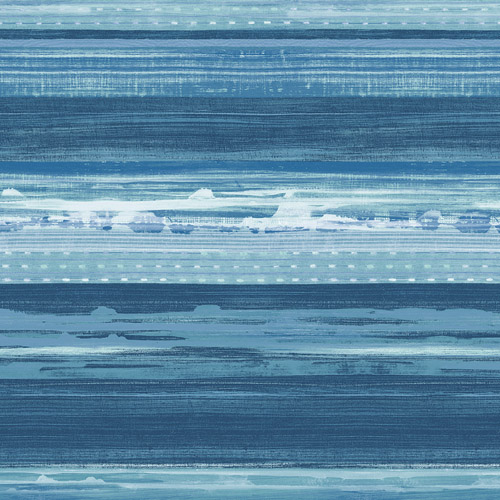 RY31302 Seabrook Wallcovering Boho Rhapsody Horizon Wallpaper Blue