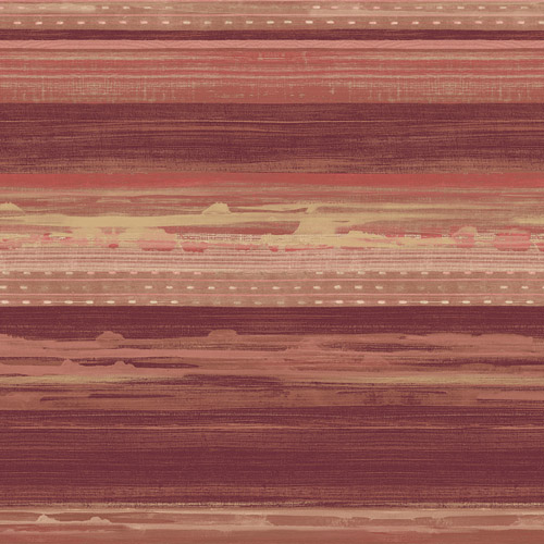RY31311 Seabrook Wallcovering Boho Rhapsody Horizon Wallpaper Terracotta