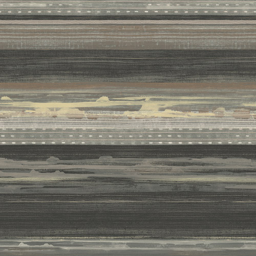 RY31320 Seabrook Wallcovering Boho Rhapsody Horizon Wallpaper Brown