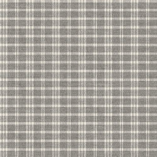 3119-02148 Brewster Wallcovering Chesapeake Kindred Tristan Prairie Gingham Wallpaper Grey