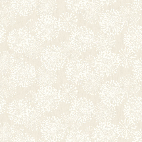 NA0578 York Wallcoverings Candice Olson Botanical Dreams Grandeur Wallpaper Off-White