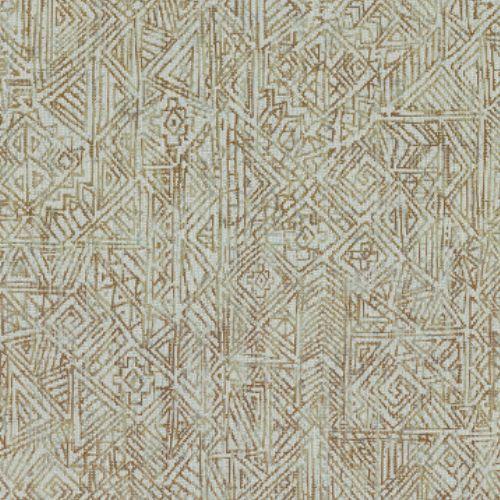 391521 Brewster Wallcovering Eijffinger Terra Longmont Global Geometric Wallpaper Aqua