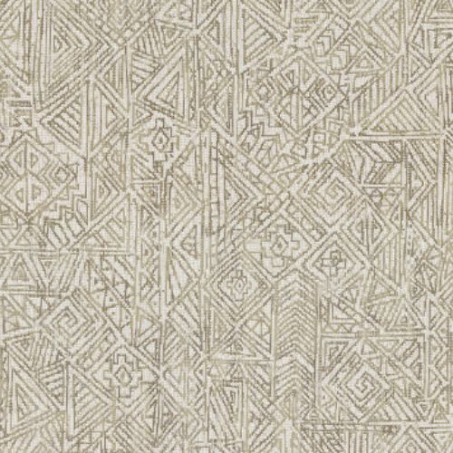391523 Brewster Wallcovering Eijffinger Terra Longmont Global Geometric Wallpaper Bone