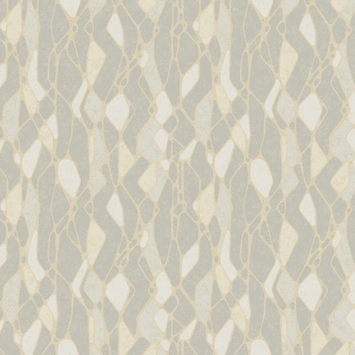 NA0510 York Wallcoverings Candice Olson Botanical Dreams Stained Glass Wallpaper Grey